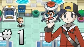 Let's Play Pokemon HeartGold Version - Part 1 - A new beginning!