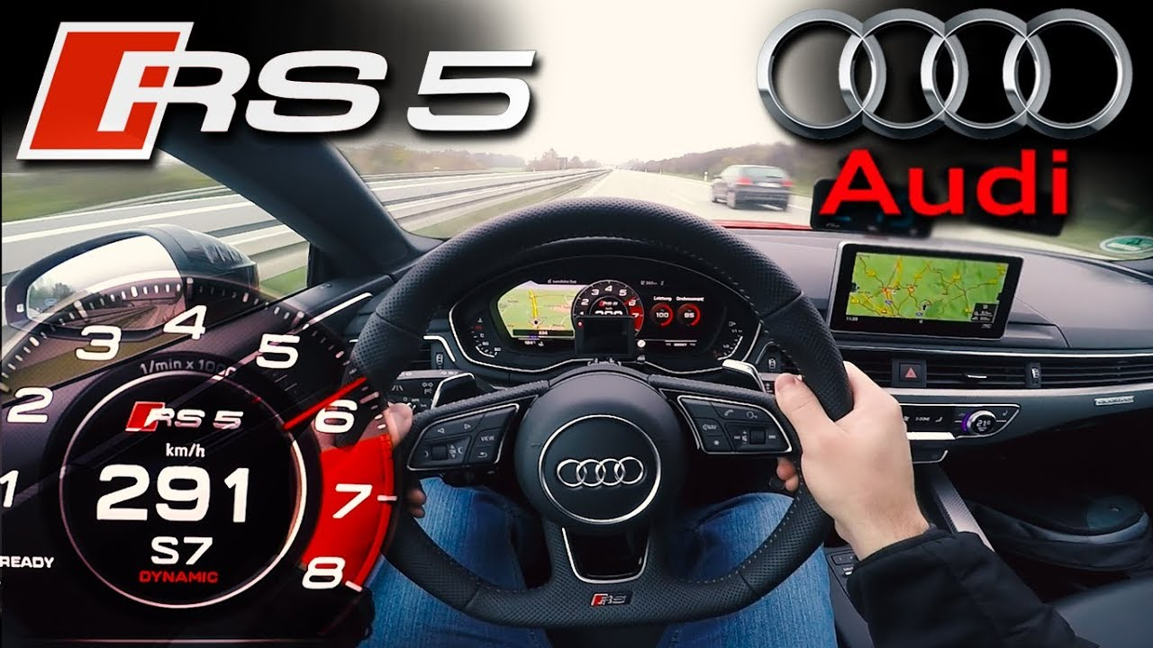 Crazy 2018 Audi Rs5 29 V6 Bi Turbo Top Speed On German