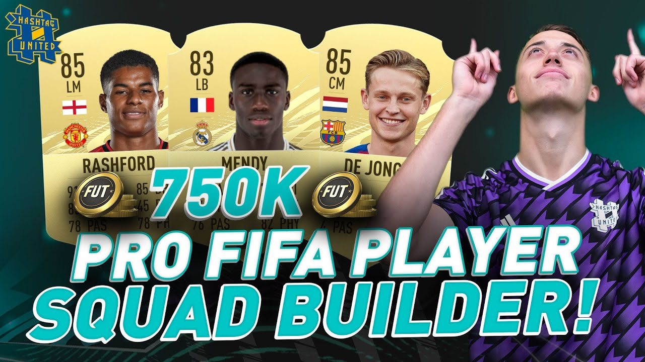 INSANE 750K PRO FIFA PLAYER SQUAD BUILDER! FIFA 21 ULTIMATE TEAM - BEST META TEAM FOR FUT CHAMPS!!