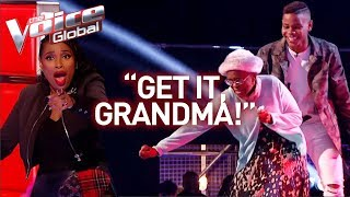 Download 16-Year-Old and grandmother steal the show in The Voice! | Journey #28 Mp3 and Videos