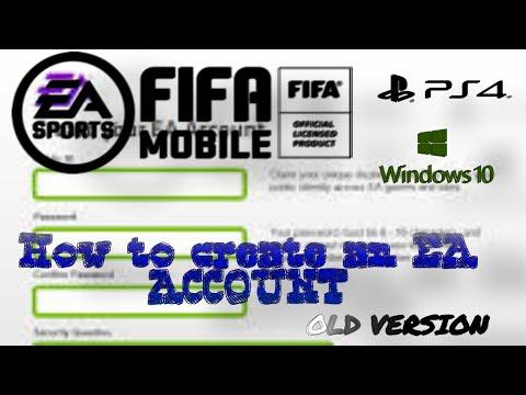 How To Create An Ea Account