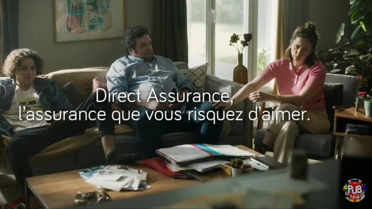 """Musique de la pub Direct Assurance – le ponpon """"l'assurance que vous risquez d'aimer""""  Septembre 2021"""