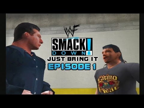 WWF Smackdown: Just Bring it - Story Mode - 1 (Stepping in enemies yard!)