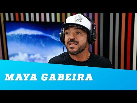 Maya Gabeira deveria estar no Guinness, defende Koxa