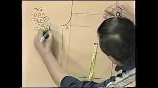 Repeat youtube video Puntos y Puntadas 50. Molde base del pantalón dama Talle 44. Hermenegildo Zampar.