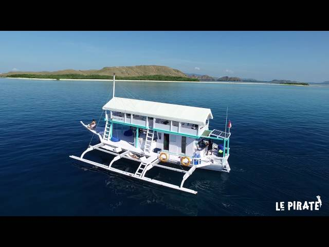 Le Pirate Explorer - Komodo Islands - Short clip