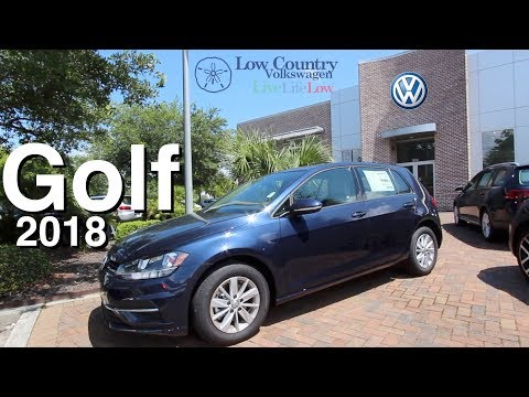 Reviewing the Classic 2018 Volkswagen GOLF !!! Start Up & Full Tour @ Low Country VW