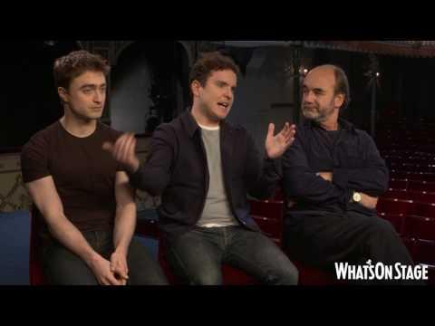 Interview: Daniel Radcliffe, Joshua Maguire and David Haig