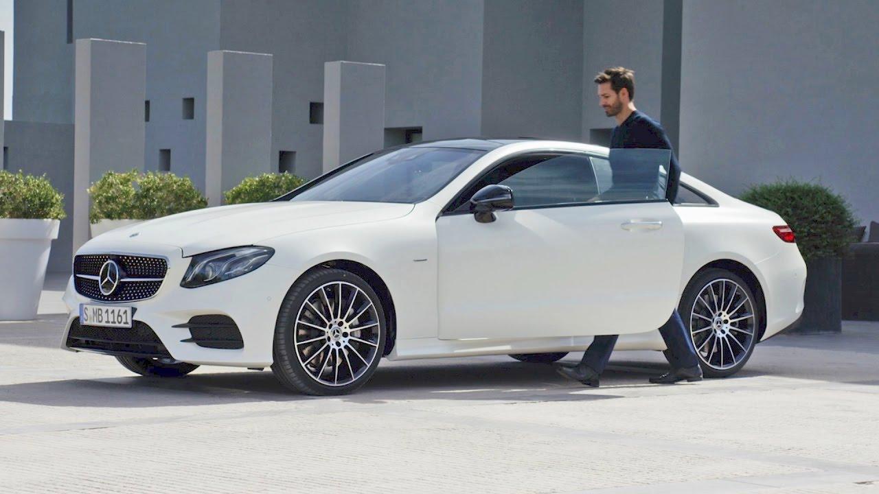 2018 Mercedes E-Class COUPE Edition 1 - Design - YouTube