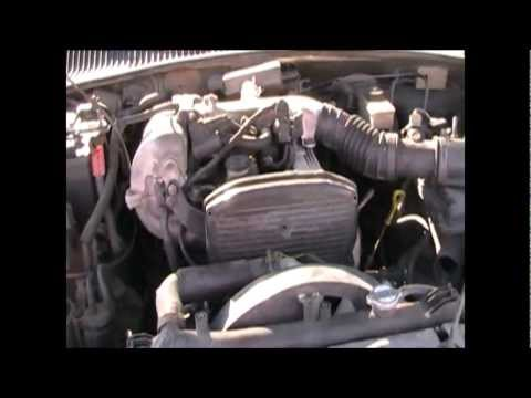 Kia Sportage 2001 Timing Belt Removal  YouTube