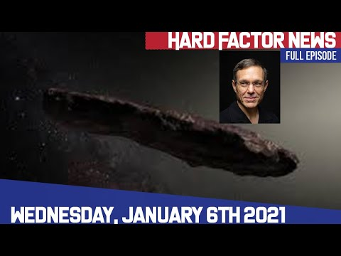 Hard Factor 1/6/21: GA Senate Results, and Interview w/ Extraterrestrial Author Avi Loeb