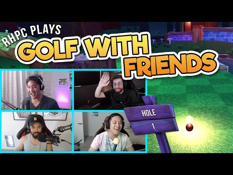 Playing Golf with Your Friends!