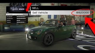 How To Sell Any Street Car For $900,000 In GTA 5 Online!( GTA 5 Online Money Glitch) SCAM!