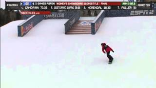 Silje Norendal Women's Snowboard Slopestyle final 1 - X Games