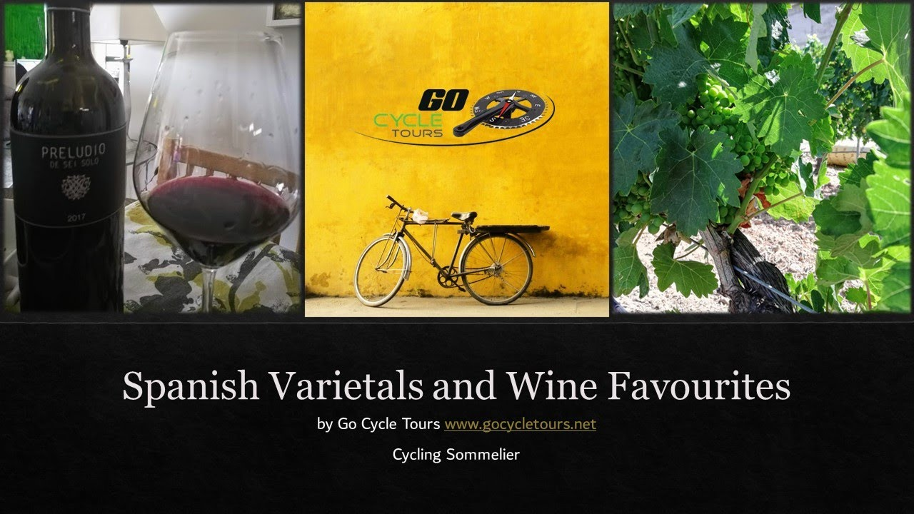 Stage Four - we did a U-turn - of our Virtual Wine Tour of Spain - Grape Varietals and My Favourites