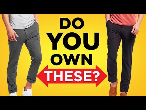 15 Pant Styles EVERY Man Needs (ULTIMATE Trouser Type Tutori