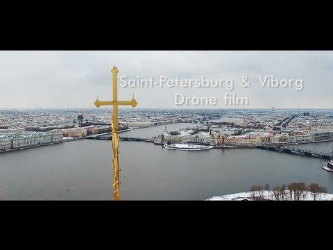 Saint Petersburg & Viborg   Drone film. Аэросъемка спб