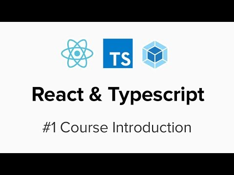 React & Typescript - #1 Course Introduction - YouTube