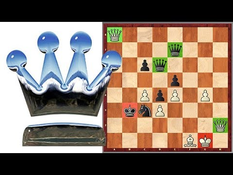 Fischer Vs Petrosian: The Immortal Game Of Four Queens