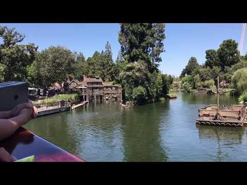 Full POV Ride Thru Columbia - Disneyland 2017