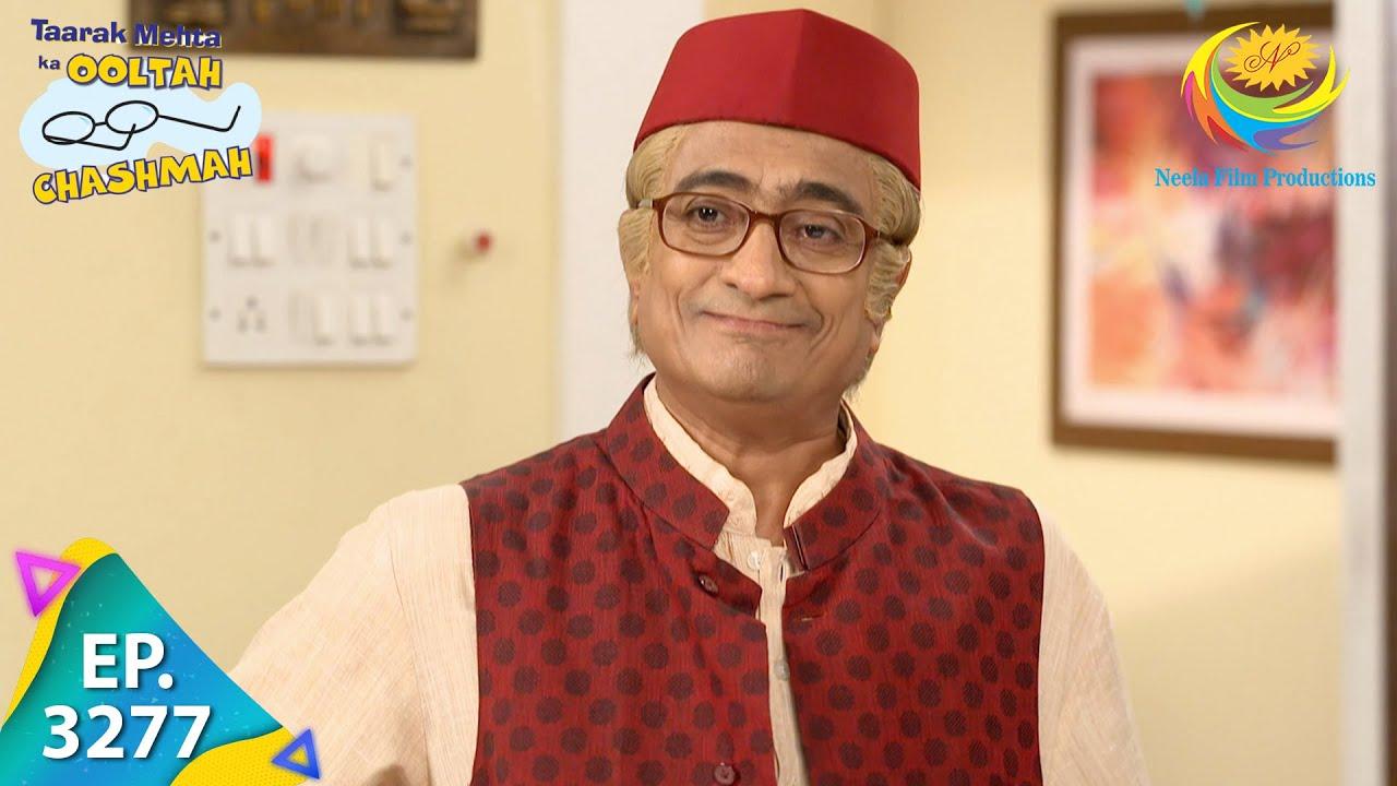 Download Taarak Mehta Ka Ooltah Chashmah - Ep 3277 - Full Episode - 15th October 2021