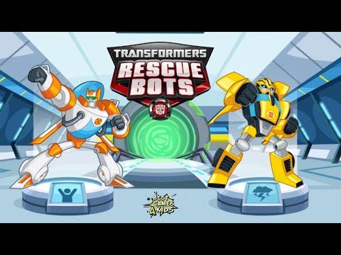 Transformers Rescue Bots: Disaster Dash Hero Run #124 | COMPLETE exciting missions w/ DINOBOTS!