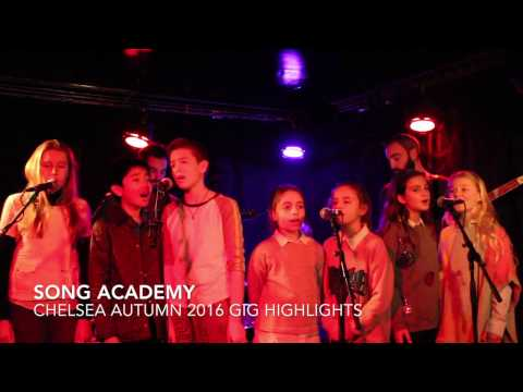 Highlights of Song Academy Chelsea Autumn 2016 Gig