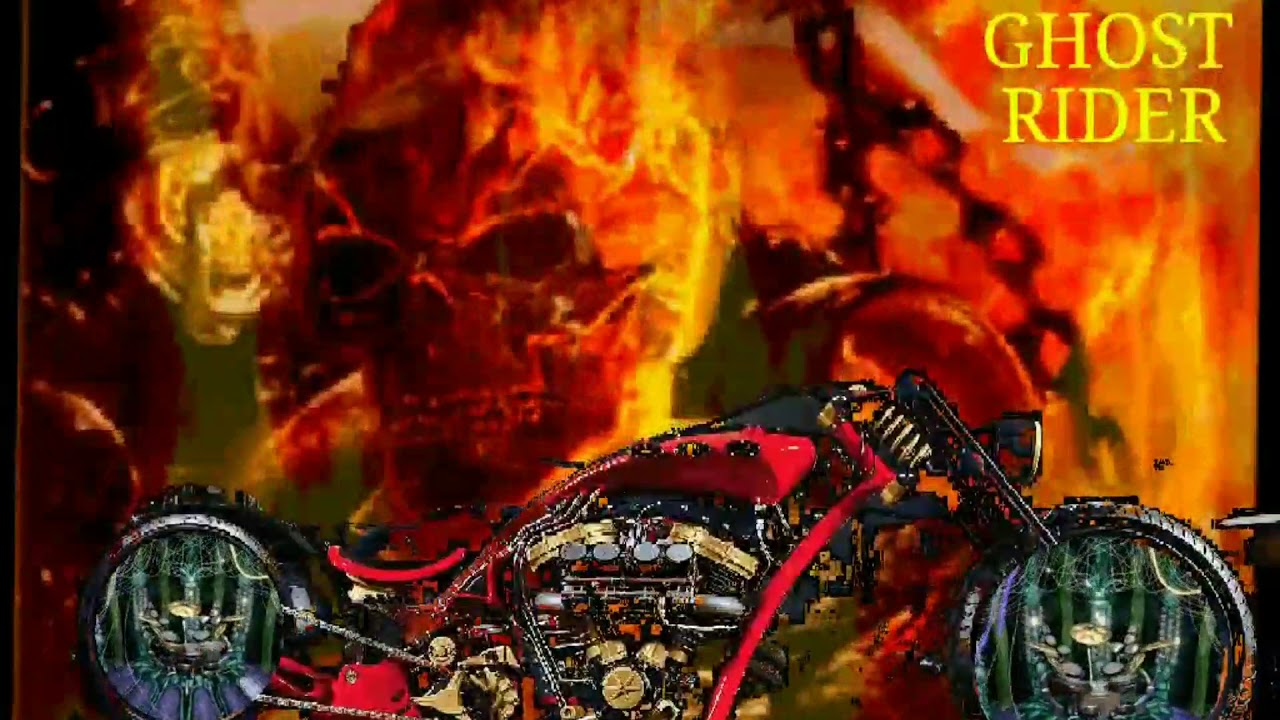 GHOST RIDER WALLPAPER - YouTube