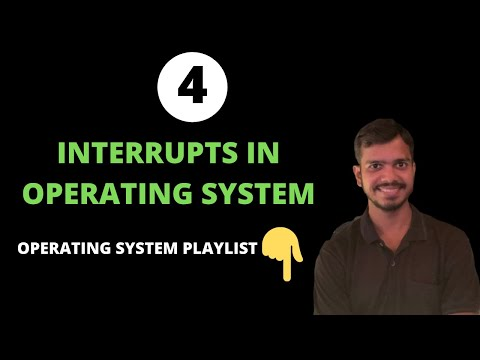 1/2: Interrupts In Operating System | Hardware Vs Software Interrupts | Traps