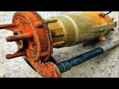 Restoration water pumps old   Restore water pumps antique   Restoration construction tools