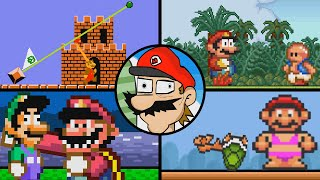 Super Mario Bloopers: REMASTERED (All Old Mario Flash Bloopers and More!)