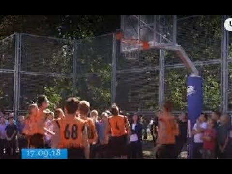 ТРК ВіККА: У черкаські гімназії презентували перший баскетбольний клас