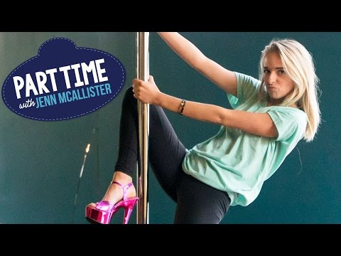 JennXPenn Teaches Pole Dancing | Part Time W/Jenn McAllister