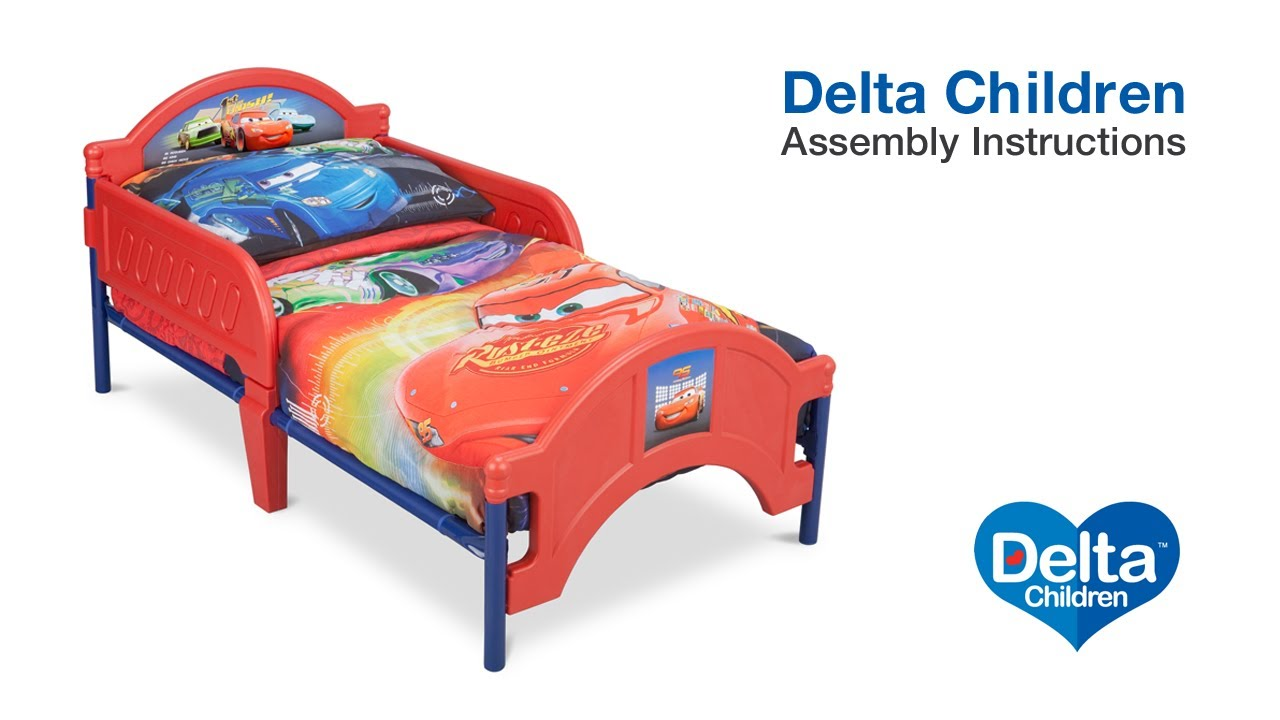 Cheap Toddler Beds Delta Children Toddler Bed Assembly Video
