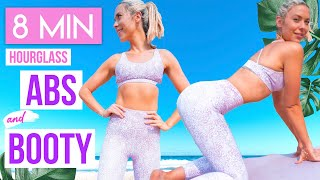 HOURGLASS ABS AND BUTT LIFT 💕 no equipment home workout