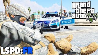 GTA 5 LSPD:FR - Soldat läuft Amok! - Deutsch - Polizei Mod #57 Grand Theft Auto V