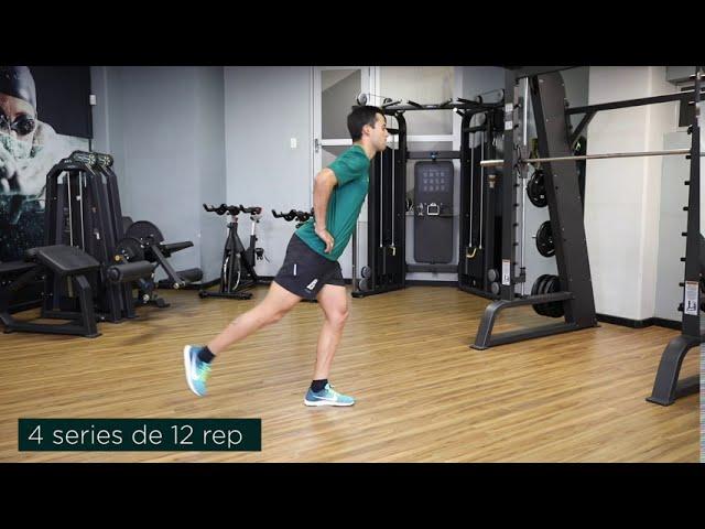 Extension y flexion de cadera bipodal