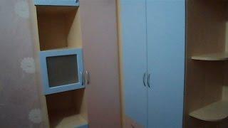 Угловой шкаф в детскую фасады мдф(Салон мебели