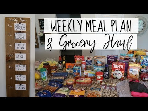 WEEKLY MEAL PLAN & GROCERY HAUL | GROCERIES FOR FAMILY OF 4 | Cook Clean And Repeat