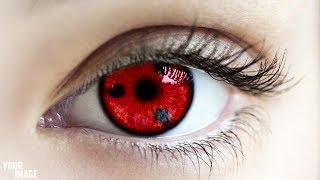 Photoshop cs6 tutorial for beginners- Sharingan eye