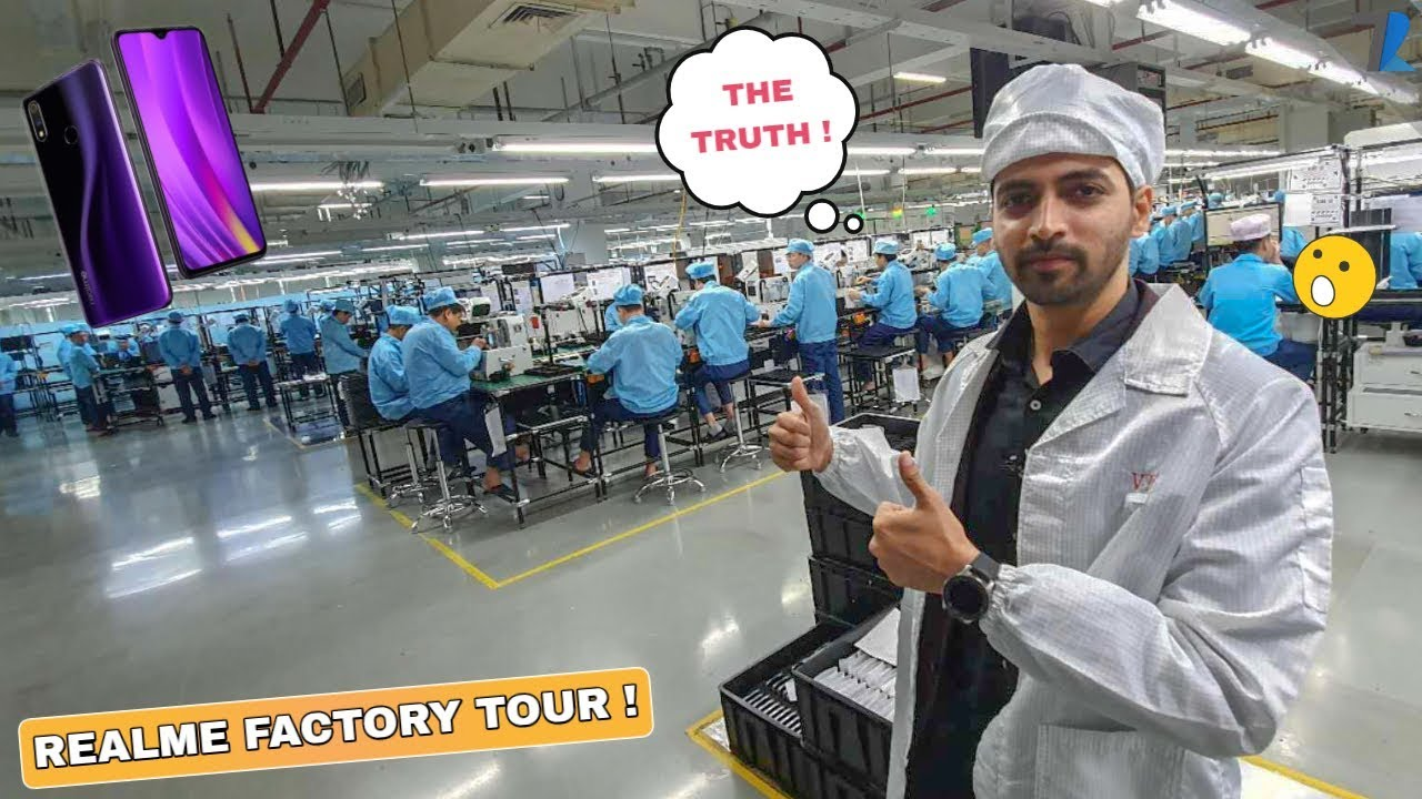 How Realme Smartphones Are Made - Realme Factory Tour | Step By Step !
