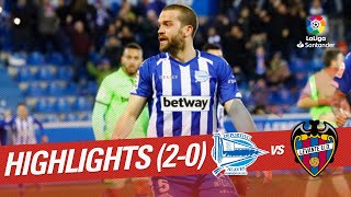 Highlights Deportivo Alaves vs Levante UD (2-0)