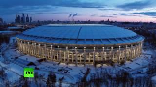 Стадион «Лужники» с высоты птичьего полета