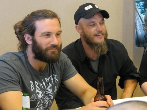 The Vikings - Behind the Scenes (Rollo Funny moments)