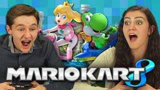 MARIO KART 8 (Teens React: Gaming)
