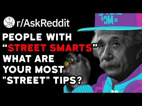 """People With """"Street Smarts"""" Share Their #1 Street Tip (Reddit Stories r/AskReddit)"""