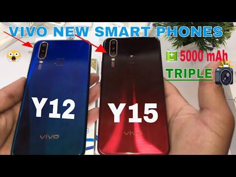 Vivo Y12 vs Vivo Y15 Unboxing+Review+Compare in Hindi