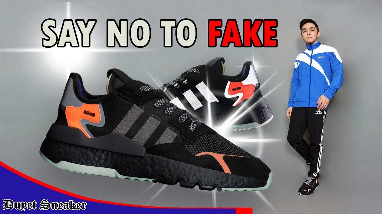 Bàn về giày Fake và đôi giày sáng nhất năm 2019: Adidas Nite Jogger | Vlog 67 – Duyet Sneaker