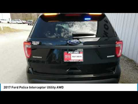 2017 Ford Police Interceptor Utility P10529
