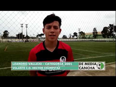 De Media Cancha Declaraciones Leandro Vallejo ADC 0 - 2 Chumpitaz